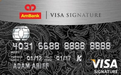AmBank Visa Signature credit card