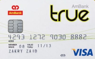 AmBank True credit card