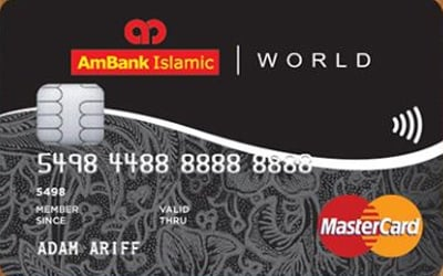 AmBank Islamic World MasterCard-i credit card