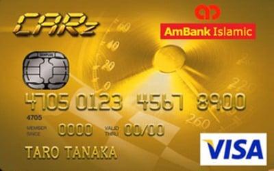 Ambank Islamic Visa Gold Carz Card I 3 Petrol Cashback