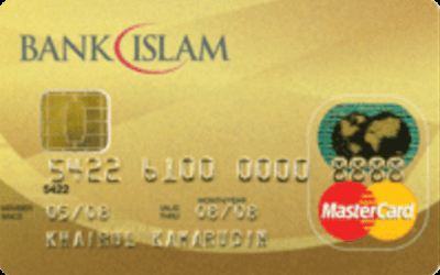 Bank Islam Gold MasterCard Card-i