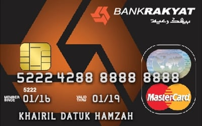 Bank Rakyat Classic Credit Card I Annual Fee Waived