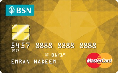 BSN Gold MasterCard credit card