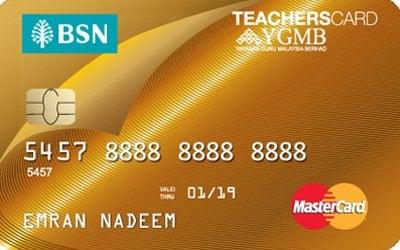 Bsn 1 Teacherscard Mastercard No Annual Fees
