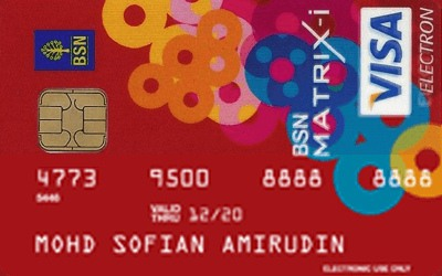 BSN Matrix-i Debit Card credit card