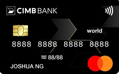 CIMB World MasterCard credit card