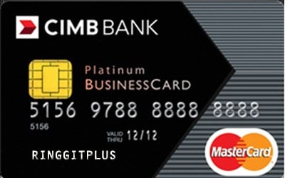 Cimb platinum businesscard for the professional cimb platinum businesscard the cimb platinum business credit card colourmoves