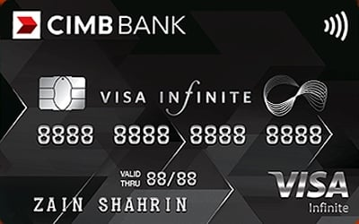 CIMB Visa Infinite credit card