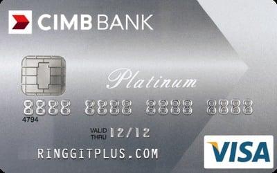 Cimb Platinum Visa No Annual Fee For Life