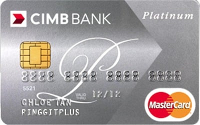 Cimb Platinum Mastercard Shopping Dining Privileges