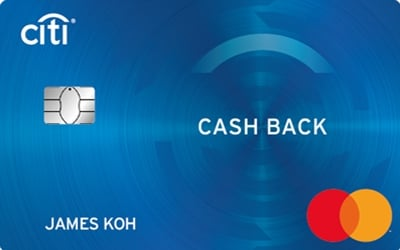 Citi Cash Back Mastercard