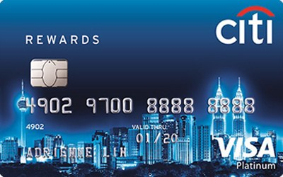 Citibank Credit Card Payment Online >> Citibank Rewards Platinum Visa Card - 5X Citi Rewards Points