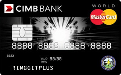 CIMB Direct Access The Institution of Surveyors, Malaysia (ISM) World MasterCard credit card