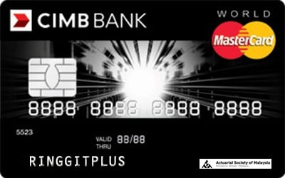 CIMB Direct Access Actuarial Society of Malaysia (ASM) World MasterCard credit card