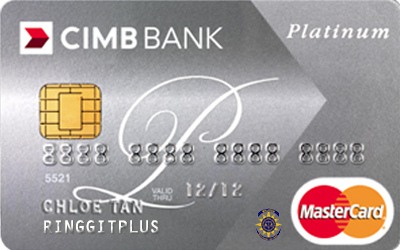 CIMB Direct Access Bar Council Malaysia (BAR) Platinum Mastercard credit card