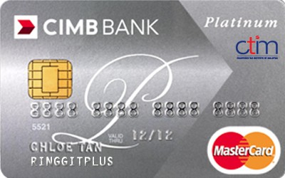 CIMB Direct Access Chartered Tax Institute of Malaysia (CTIM) Platinum MasterCard credit card