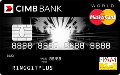 CIMB Direct Access Financial Planning Association of Malaysia (FPAM) World MasterCard credit card