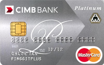CIMB Direct Access Institution of Engineers, Malaysia (IEM) Platinum MasterCard credit card