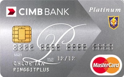 CIMB Direct Access Malaysian Dental Association (MDA) Platinum MasterCard credit card