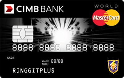 CIMB Direct Access Malaysian Dental Association (MDA) World MasterCard credit card