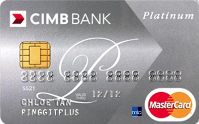 CIMB Direct Access Malaysian Institute of Accountants (MIA) Platinum MasterCard credit card