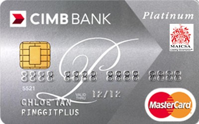 CIMB Direct Access Malaysian Institute of Chartered Secretaries and Administrators (MAICSA) Platinum MasterCard credit card