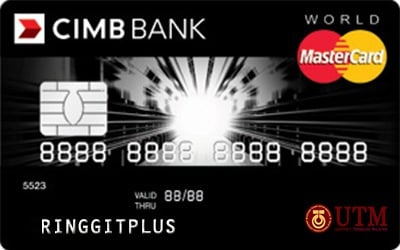 CIMB Direct Access Universiti Teknologi Malaysia Alumni (UTMA) World MasterCard credit card