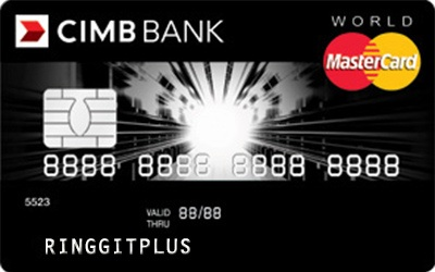 CIMB Direct Access World MasterCard credit card