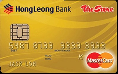 The Store Pacific Hong Leong Gold MasterCard