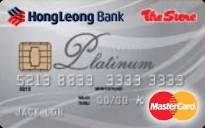 The Store Pacific Hong Leong Platinum MasterCard