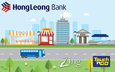 Hong Leong Touch 'n Go Zing Debit Card credit card
