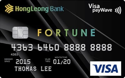 Hong Leong Fortune Card credit card