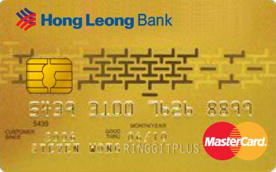 Hong Leong Gold MasterCard credit card