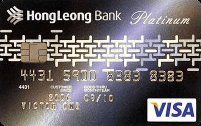 Hong Leong Platinum Visa credit card