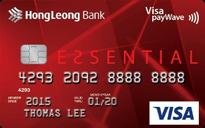 Hong Leong Essential credit card