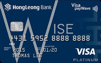 Hong Leong Wise Platinum credit card