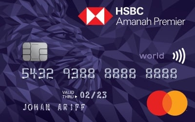 HSBC Amanah Premier World MasterCard-i credit card