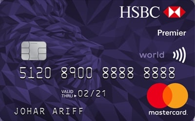 HSBC Premier World MasterCard - 10X Reward Points