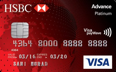 Hsbc advance visa platinum annual fee waiver hsbc advance visa platinum reheart Images