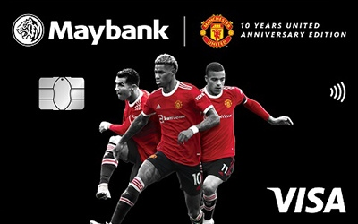 maybank manchester united visa card - United Visa Credit Card