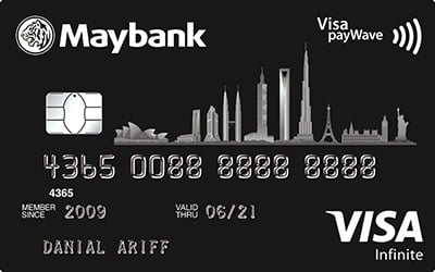 Maybank Visa Infinite credit card