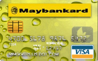 Maybank Visa Flex credit card