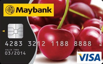 Maybankard Visa Debit Card credit card