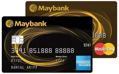 Maybank 2 Gold Cards