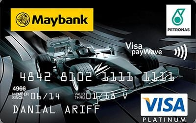 Petronas Maybank Visa Platinum credit card