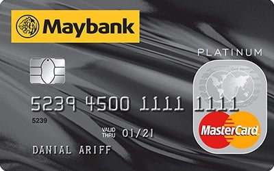 Maybank MasterCard Platinum credit card