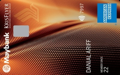 Singapore Airlines KrisFlyer American Express Gold