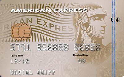 Maybank American Express Gold credit card