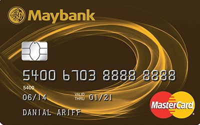 Maybank MasterCard Gold credit card
