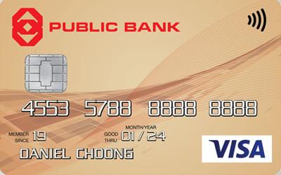 Public Bank Gold Visa